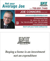 joe connors 691 7449 exit realty on the rock nl