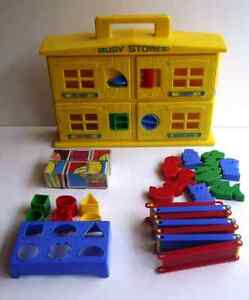Vintage Busy Stores 1972 Kohner Bros. Learning Toy