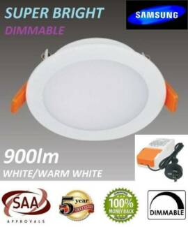 SYD WHOLESALE DIMMABLE 10W 12W 13W LED Downlight Kits Driver Plug