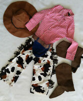 Cowboy Costume - Like New - Size 4