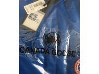 Canada goose coat blue New bagged medium top quality