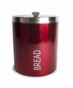acier inoxydable huche pain alimentaire de cuisine boite de rangement ebay. Black Bedroom Furniture Sets. Home Design Ideas