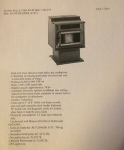 Wood pellet stove  Kitchener / Waterloo Kitchener Area image 2