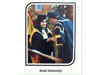 Tutor for KS1-KS4 (Biology, Chemistry, English, Neuroscience and Psychology) GCSE.