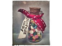 Tiny little jar of sweets for the elves