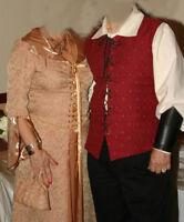 Costumes médiévales pour homme et femme