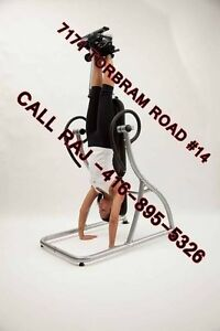 BRAND NEW INVERSION TABLE - BRAND NEW IN SEALED BOXES