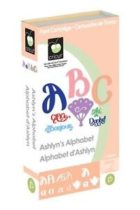 ASHLYNS-ALPHABET-Cricut-Cartridge-Brand-New-Sealed-BEAUTIFUL-ARTISTIC-FONTS