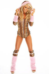 SEXY-JUNGLE-TIGER-KITTY-CAT-ANIMAL-NAUGHTY-HALLOWEEN-COSTUME-8-10-12