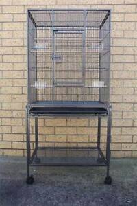 135cm Bird Cage Parrot Aviary Pet Stand-alone Budgie Perch Castor Mordialloc Kingston Area Preview