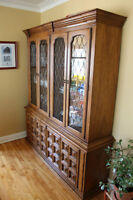 !!!!LAST CALL!!! Vintage Dining Cabinet/hutch