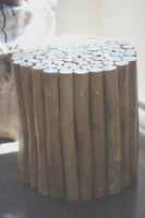 Wooden Side Tables (2)