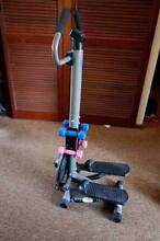 fitness equipment + 4 dumbbells, good condition Newtown Geelong City Preview