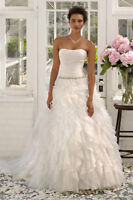 Elegant Size 6 Wedding Dress - Brand New