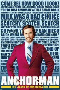 Anchorman movie poster 24x36