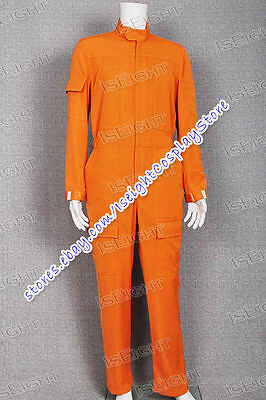 Star Wars Cosplay Costume Orange Pilot Uniform Jumpsuit Outfit High Quality](High Quality Star Wars Costumes)