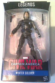 "Marvel Legends Winter Soldier 6"" Figure. £10 each or 2 for £15"