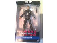 "Marvel Legends Winter Soldier 6"" Figure."