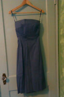 Gorgeous strapless dress with tie back