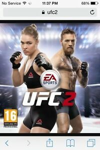 Looking for UFC2 for PS4