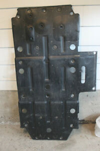 2013 RAZOR S STOCK SKIDPLATE