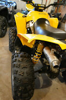 Can am renegade stock tire & rim