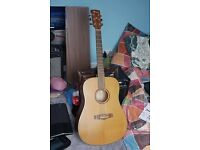 Ibanez AW-55 Acoustic Guitar (not electric acoustic)