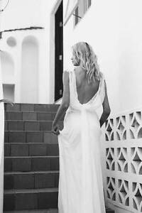 """Grace Loves Lace """"Vida"""" Wedding Dress, XS in Ivory Chittaway Bay Wyong Area Preview"""