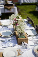 Flower Boxes for Wedding Table Centrepieces