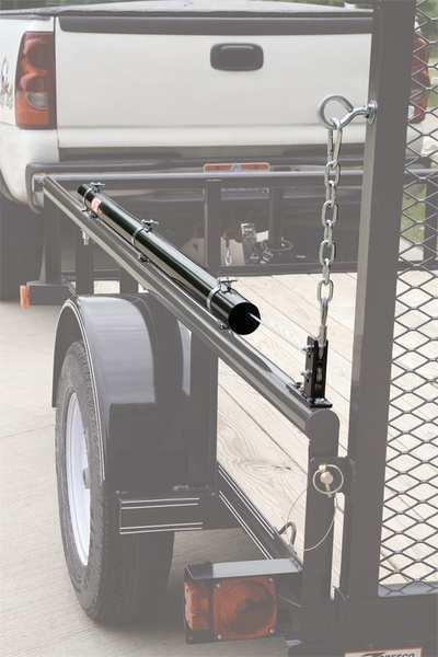 BUYERS PRODUCTS 5201000 EZ Gate Trailer Tailgate Assist, 180 lb