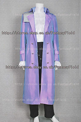 Purple Rain Costume Prince Rogers Nelson Coat Trench Coat Halloween Convention
