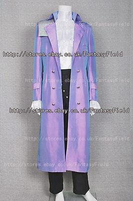 Purple Rain Costume Prince Rogers Nelson Coat Trench Coat Halloween Convention
