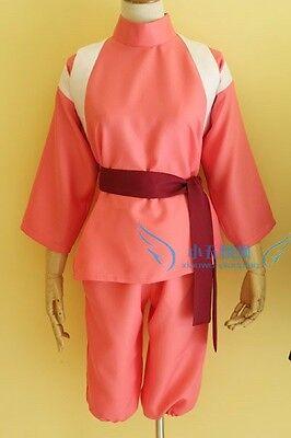 Halloween Spirited Away ogino chihiro cosplay costume clothes any size](Spirited Away Halloween Costume)