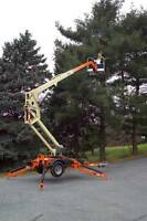 Towable Boom Lift For Rent (Man Lift)