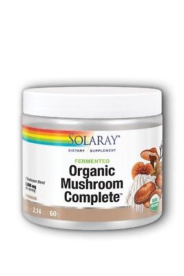 Organic Fermented Mushroom Complete Solaray 2.14 oz (60 g) Powder