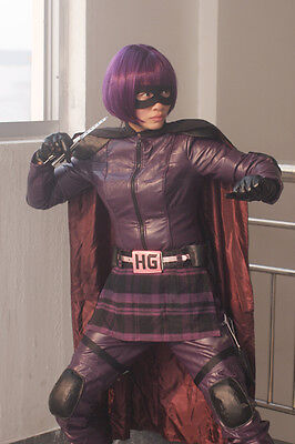 New Top Quality Kick-Ass Kick Ass 2 Hit-Girl Hit Girl Cosplay Costume XS-XL - Kick Ass 2 Costumes