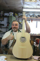Route 12 Instrument Repair and Custom Built Acoustic Guitars