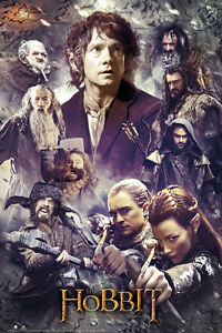 The-Hobbit-Desolation-of-Smaug-Collage-Poster-Official-Maxi-JRR-Tolkien-FP3169