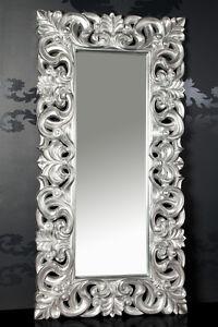 xxxl wandspiegel spiegel repro barock antik rechteckig replike 180 x 90 a silber ebay. Black Bedroom Furniture Sets. Home Design Ideas