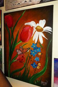 """Acrylic Painting - """"Springtime"""" - (reduced++)"""