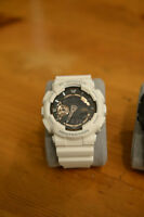 Casio G-shock GA100RG White Rose Gold X-Large Analog/Digi watch