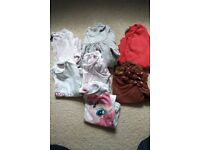Bundle of girls tops 12-18months