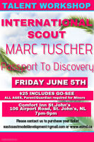 TALENT WORKSHOP IN ST.JOHN'S WITH INTERNATIONAL SCOUT!!
