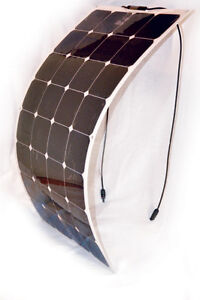 Flexible solar charge kit.