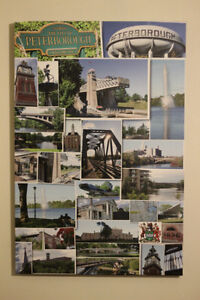 "Peterborough Collage Canvas 20""x30""  Photos City of Peterborough Peterborough Peterborough Area image 2"