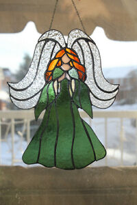 Angel Stained Glass