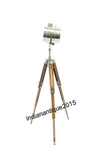 Spot search light photography studio floor lamp with for Winston studio spotlight floor lamp on tripod