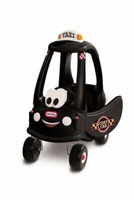 Little Tikes Cozy Coupe Kinder Taxi schwarz Laufauto Lauf Fahrzeug Rutsch Auto
