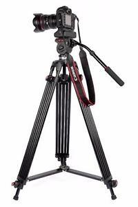 JY0508B Video Tripod for DSLR/Pro Cameras