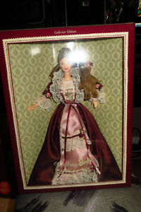 Victorian Barbie with Cedric Bear - (reduced)